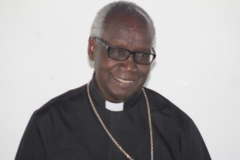 File photo:  Bishop Erkolano Lodu Tombe of Yei. (Radio Tamazuj)
