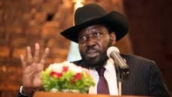Photo: South Sudan President Salva Kiir