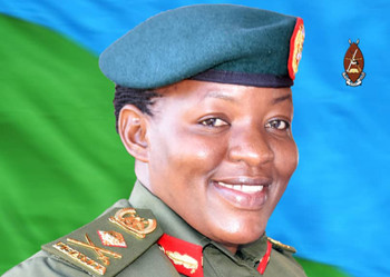 Ugandan Ministry of Defence and UPDF spokesperson, Brigadier Flavia Byekwaso