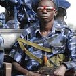 Photo: South Sudan police officers on the streets of Juba