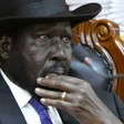South Sudan's President Salva Kiir attends a meeting at the State House in Juba, February 15, 2020. (Photo credit: VOA)